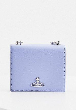 Клатч Vivienne Westwood. Цвет: голубой