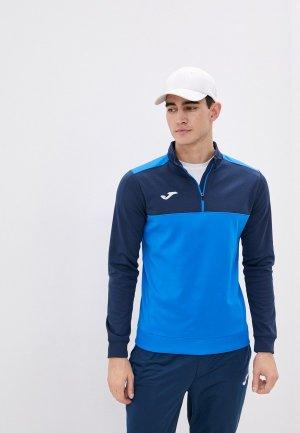 Олимпийка Joma. Цвет: синий