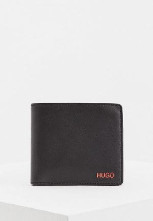 Кошелек Hugo Boss. Цвет: черный