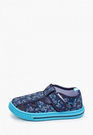 Тапочки Tom-Miki. Цвет: синий