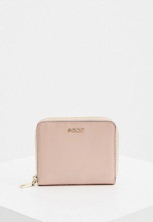 Кошелек DKNY. Цвет: розовый