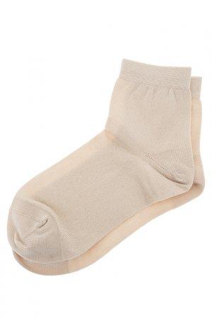 Носки COLLONIL. Цвет: бежевый