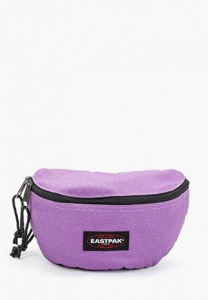 Сумка поясная Eastpak. Цвет: фиолетовый