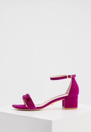 Босоножки Stuart Weitzman. Цвет: розовый