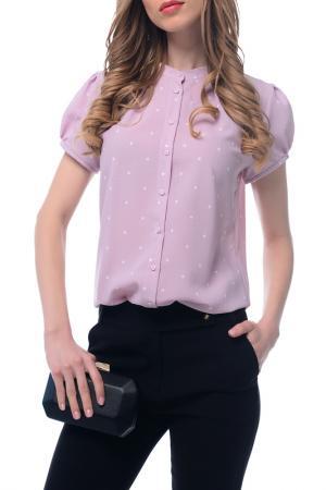 Блуза-боди AREFEVA. Цвет: розовый