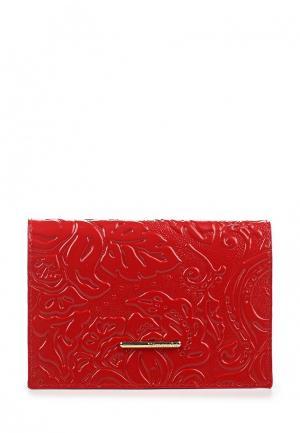 Обложка для паспорта Dimanche. Цвет: красный