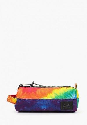 Пенал Herschel Supply Co. Цвет: разноцветный