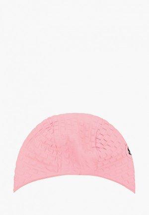 Шапочка для плавания MadWave. Цвет: розовый
