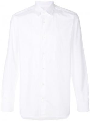 Рубашка с длинными рукавами Mauro Grifoni. Цвет: белый