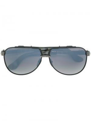 Aviator sunglasses Chrome Hearts. Цвет: чёрный