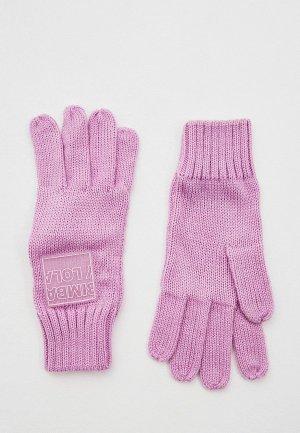 Перчатки Bimba Y Lola. Цвет: фиолетовый