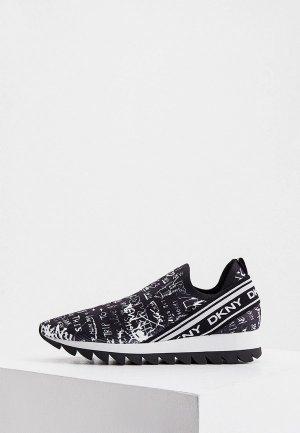 Кроссовки DKNY. Цвет: черный