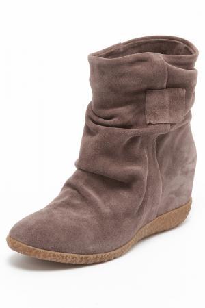 Ботинки Donna Ricco. Цвет: светло-коричневый