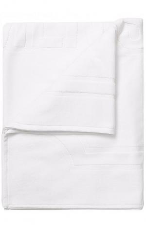 Хлопковое пляжное полотенце Vetements. Цвет: белый
