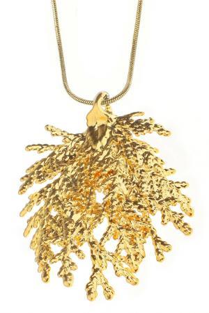 Колье Ester Bijoux. Цвет: золотой