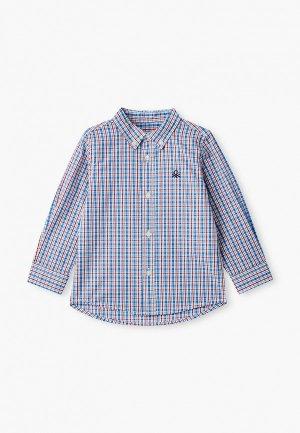 Рубашка United Colors of Benetton. Цвет: разноцветный