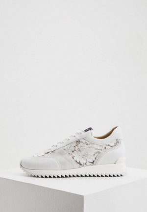 Кроссовки Le Silla. Цвет: белый