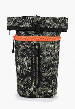 Рюкзак adidas Combat. Цвет: зеленый