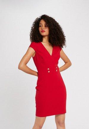 Платье Morgan. Цвет: красный