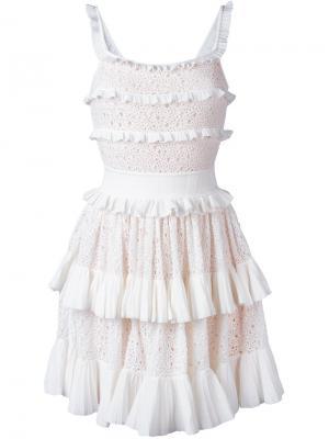 Платье Melissa Antonino Valenti. Цвет: белый