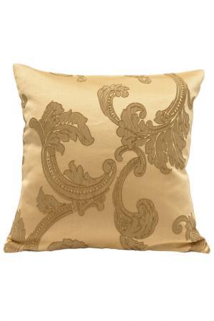 Декоративная подушка 40х40 DAILY BY T. Цвет: золотой