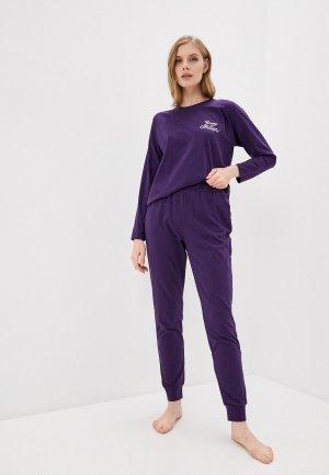 Пижама Winzor. Цвет: фиолетовый