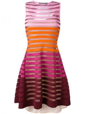 Платье Ortensia Antonino Valenti. Цвет: розовый и фиолетовый