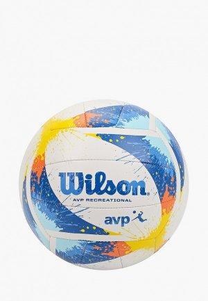 Мяч волейбольный Wilson. Цвет: разноцветный