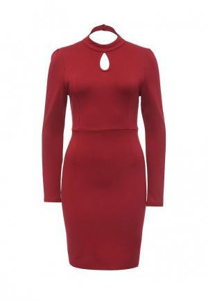 Платье Oeuvre. Цвет: бордовый