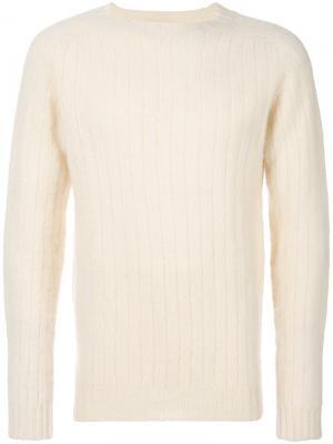 Классический свитер Howlin Howlin'. Цвет: телесный