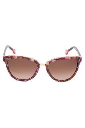 Солнцезащитные очки CAROLINA HERRERA. Цвет: мультицвет