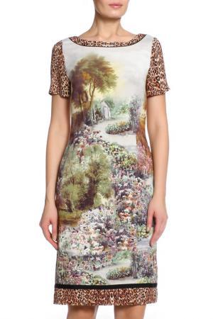 Платье Angelo Marani. Цвет: леопардовый