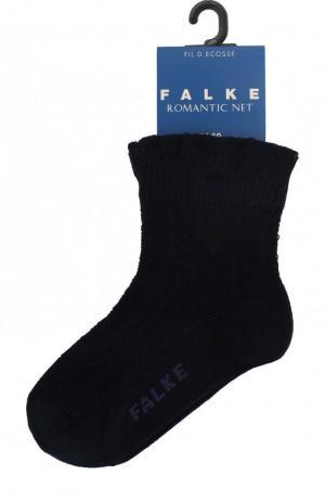 Хлопковые носки Falke. Цвет: темно-синий
