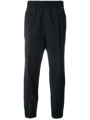 Спортивные брюки с эластичным поясом Kris Van Assche. Цвет: чёрный