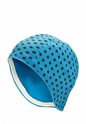 Шапочка для плавания MadWave. Цвет: синий
