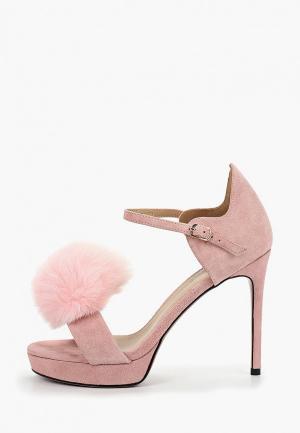 Босоножки Grand Style. Цвет: розовый