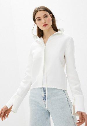 Блуза Helmut Lang. Цвет: белый