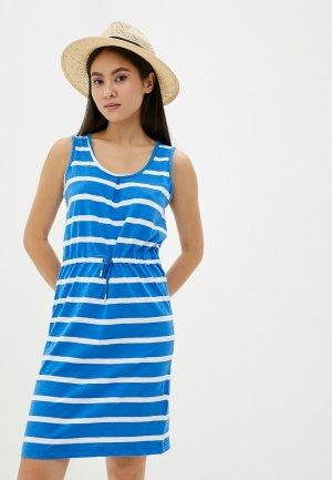 Платье Regatta. Цвет: голубой