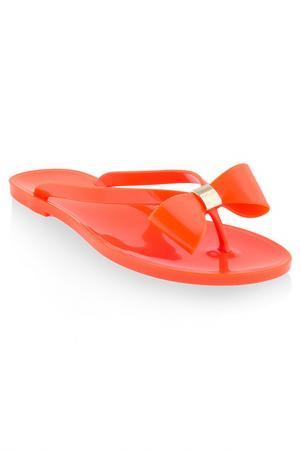 Пляжные сланцы MENGHI. Цвет: оранжевый