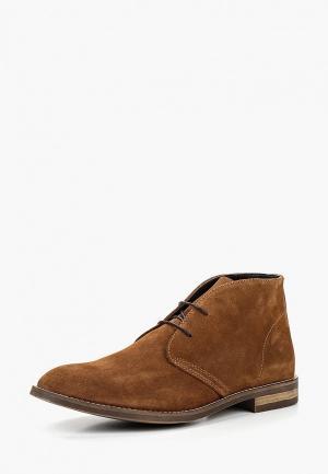 Ботинки Mango Man. Цвет: коричневый