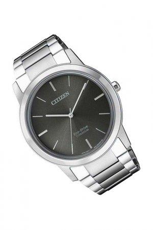Наручные часы CITIZEN. Цвет: серый