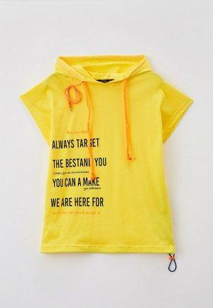 Худи Dali. Цвет: желтый