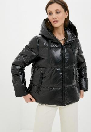 Куртка утепленная Love Republic. Цвет: черный