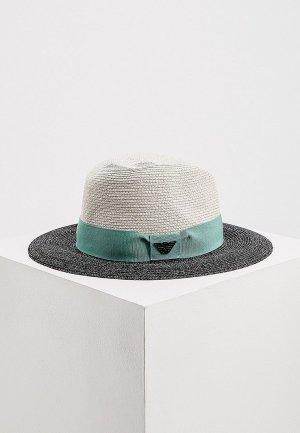 Шляпа Emporio Armani. Цвет: разноцветный