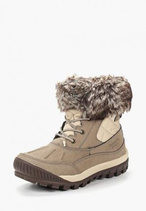Ботинки Bearpaw. Цвет: бежевый