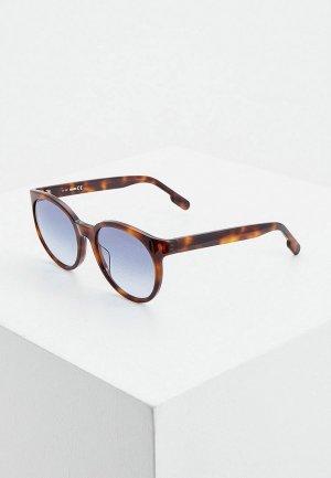Очки солнцезащитные Kenzo. Цвет: коричневый