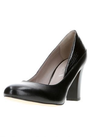Туфли Badura. Цвет: черный