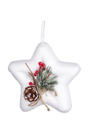 Декоративныя подвеска DUE ESSE CHRISTMAS. Цвет: белый