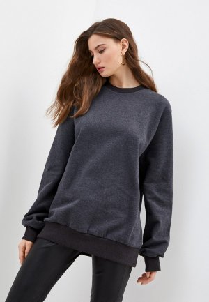 Свитшот Dolce&Gabbana. Цвет: серый