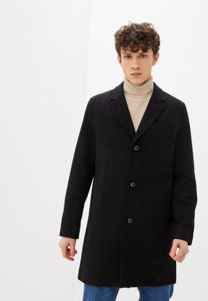 Пальто Gap. Цвет: черный